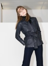 Leather jacket £325 at Uterque.com