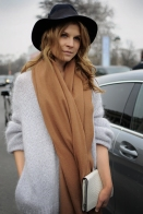 Clemence Poesy having a scarf
