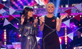 Claudia Winkleman in not so great Top Shop