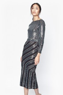 Sequin dress £130 from French Connection