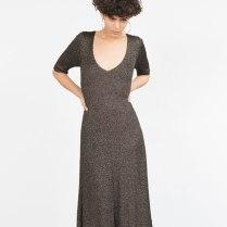 Knit dress £39.99 from Zara
