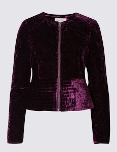 Velvet jacket £55.30 from M&S