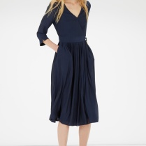 Wrap dress £55 from Warehouse