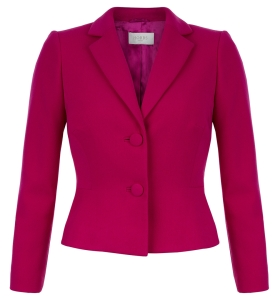 For 'Winters' - Cherry red Jacket £159 at Hobbs