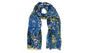 Blue & yellow scarf £45 at Whistles
