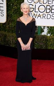 RIGHT! Helen Mirren in Badgley Mischka
