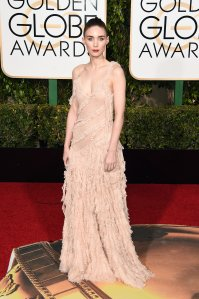 RIGHT! Rooney Mara in Alexander McQueen