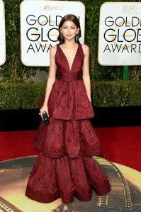 WRONG! Zendaya in Marchesa