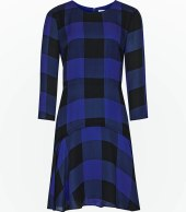 Checked dress down from £195 to £80 at Reiss