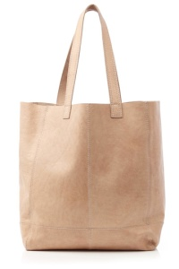 Leather shopper £38 at Oasis