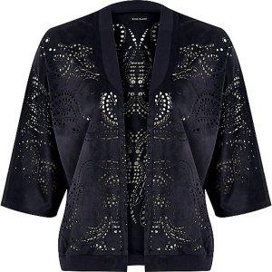 Laser cut jacket £40 at River Island