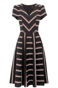 Striped dress £45 at Oasis