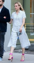 Diane Kruger does short and flowy