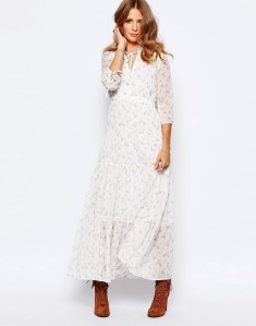 Maxi dress £140 at ASOS