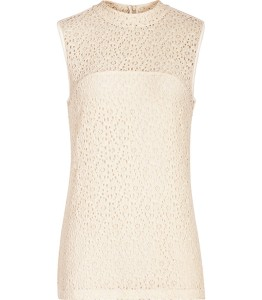 Lace top £60 at Reiss