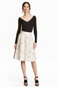 Top £19.99 & Skirt £29.99 at H&M