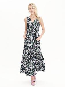 Maxi dress £85 at Banana Republic