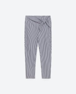 Trousers £25.99 at Zara
