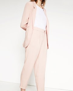 Trousers (part of suit) £39.99 from Zara