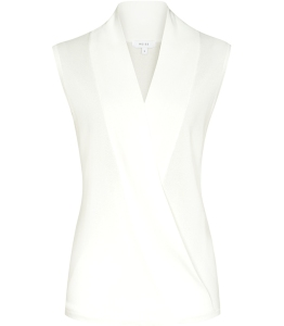 Curves: Ivory top £95 from Reiss