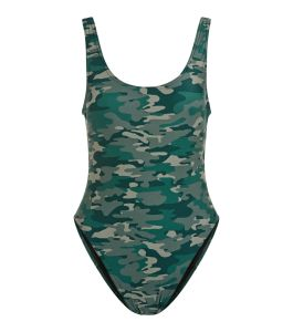Camouflage swimsuit £17.99 at New Look
