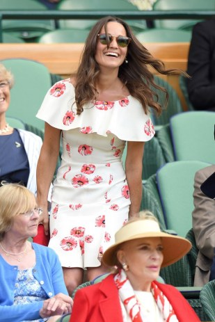 Pippa Middleton - predominantly white