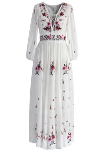Maxi dress £70 at Chicwish.com