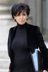 French politician Rachida Dati in 2009