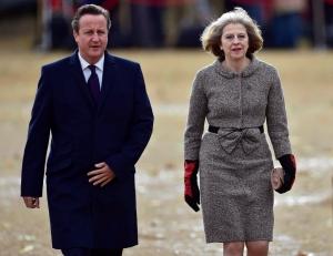 David Cameron and Theresa May both looking pretty darn chic