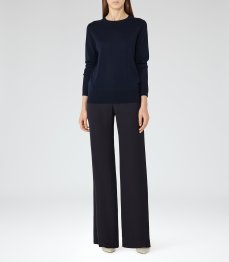 Wide leg trousers £125 from Reiss