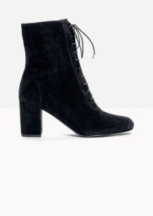 Lace-up boots £145 at Other Stories