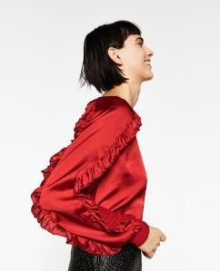 'Paso Doble' top £17.99 by Zara