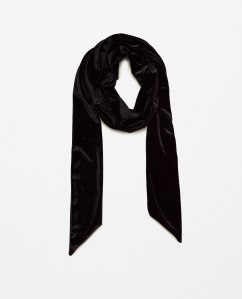 Scarf £9.99 at Zara