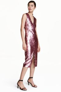 Sequin dress reduced to £12.49 at H&M