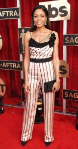 Naomie Harris in Lanvin at the SAGS