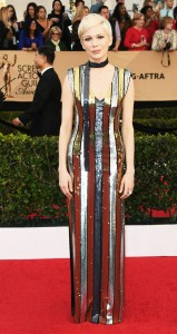 Michelle Williams in Louis Vuitton at the SAGS