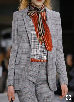 Checked suiting at Giambattista Valli