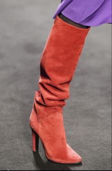 Knee length boots at Alberta Ferretti